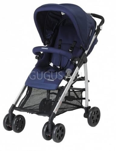 фото коляска прогулочная  foppapedretti tuo travel system blue classic стандарт