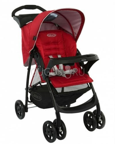 Коляска прогулочная Graco Mirage + W Parent tray and boot